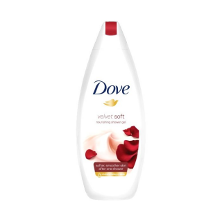 Dove sprchový gel 250ml Velvet Soft