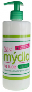 VIVAPHARM Tekuté antibakt.mydlo Tea Tree Oil 500ml